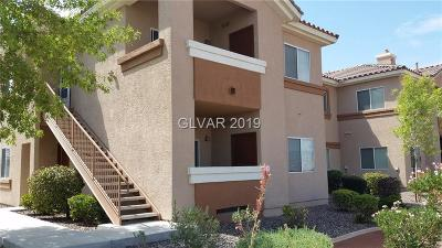 Las Vegas Condo/Townhouse For Sale: 1050 Cactus Avenue #1066