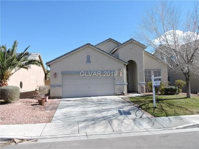 North Las Vegas Single Family Home For Sale: 6040 Power Quest Way