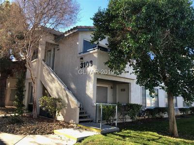 Las Vegas Condo/Townhouse For Sale: 3103 Key Largo Drive #202
