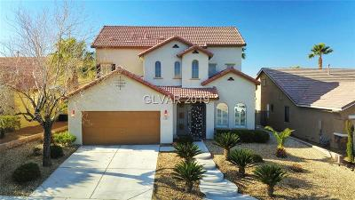 Henderson Single Family Home For Sale: 1269 Corista Drive