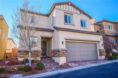Las Vegas Single Family Home For Sale: 10747 Merrimack Avenue