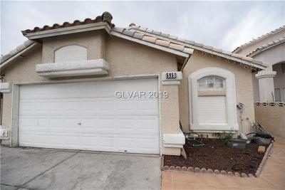 LAS VEGAS Single Family Home For Sale: 5951 Woodfield Drive