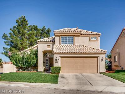 Las Vegas Single Family Home For Sale: 8120 Creek Water Lane