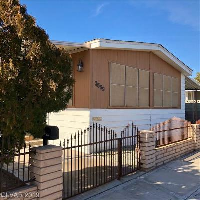 LAS VEGAS Single Family Home For Sale: 3569 Estes Park Drive