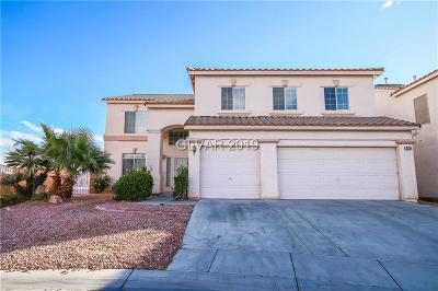 North Las Vegas Single Family Home For Sale: 3930 Crooked Oak Street