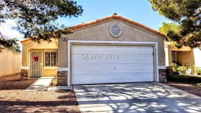 Las Vegas Single Family Home For Sale: 1805 Windy Gap Street