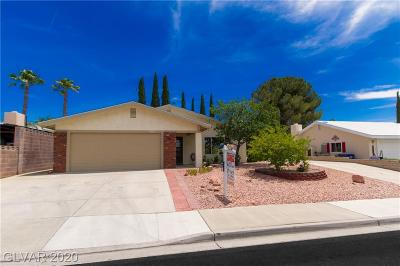 Boulder City Single Family Home For Sale: 1515 Mancha Drive