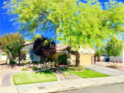 North Las Vegas Single Family Home For Sale: 6025 Ingenue Road