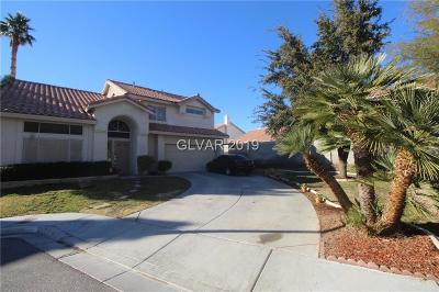 North Las Vegas Single Family Home For Sale: 5901 Black Horse Circle