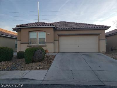 North Las Vegas Single Family Home For Sale: 3149 McLennan Avenue