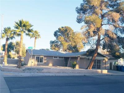 LAS VEGAS Single Family Home For Sale: 3710 Florrie Avenue