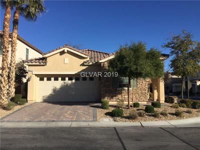 Las Vegas Single Family Home For Sale: 696 Orchard Course Drive