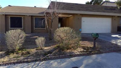 Las Vegas Single Family Home For Sale: 3949 Green Leaf Drive