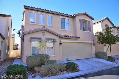 Las Vegas Single Family Home For Sale: 8063 Lyell Mountain Court