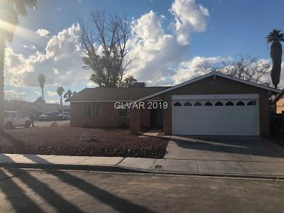 Las Vegas Single Family Home For Sale: 2293 Miner Way