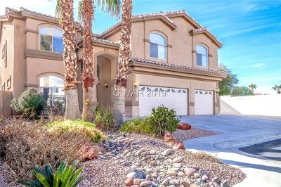 Las Vegas Single Family Home For Sale: 1017 Kayla Christine Court