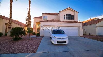 Las Vegas  Single Family Home For Sale: 3837 Willowview Court