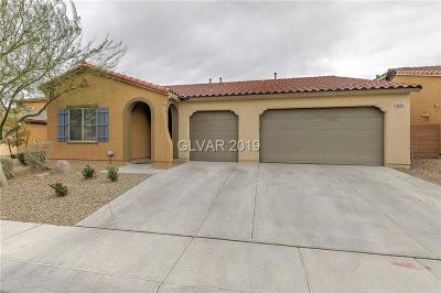 North Las Vegas Single Family Home For Sale: 6609 Fort William Street