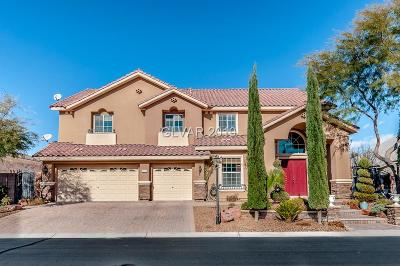 Las Vegas NV Single Family Home For Sale: $675,000
