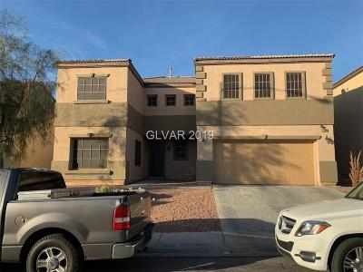 North Las Vegas Single Family Home For Sale: 1408 Crystal Rainey Avenue