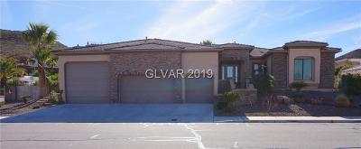 Boulder City, Henderson, Las Vegas, North Las Vegas Single Family Home For Sale: 843 Lime Rock Road