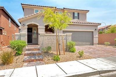 Henderson Single Family Home For Sale: 1110 Echo Pass Street