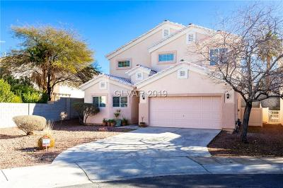 Henderson Single Family Home For Sale: 1537 Roping Reed Court