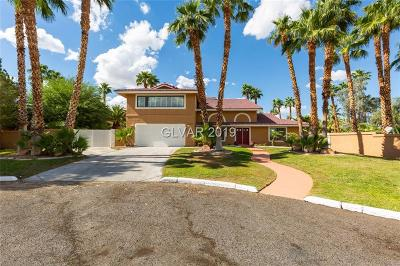 Las Vegas Single Family Home For Sale: 2275 South Pioneer Way