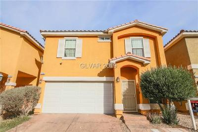 Las Vegas Single Family Home For Sale: 5186 Piazza Cavour Drive