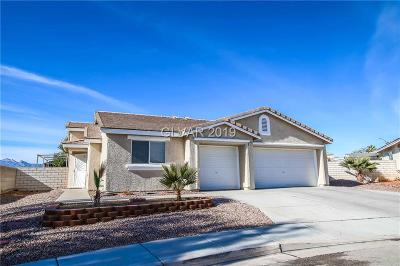North Las Vegas Single Family Home For Sale: 5535 Echo Hawk Street