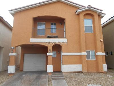 Las Vegas Single Family Home For Sale: 5141 Bellaria Place