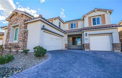 Clark County Single Family Home Sold: 8441 Canyon Sun Court