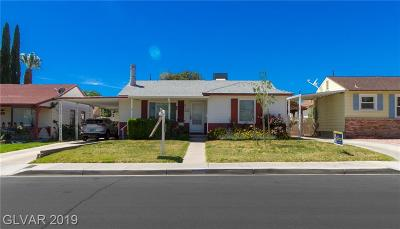 Boulder City Single Family Home For Sale: 640 G Avenue