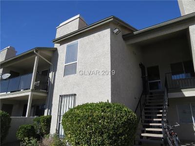 Las Vegas Condo/Townhouse For Sale: 2961 Country Manor Lane #130