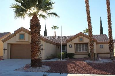 Clark County Single Family Home Under Contract - No Show: 2521 Desert Sands Drive