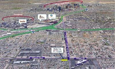 Clark County Residential Lots & Land For Sale: 1600 Martin L King Boulevard