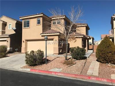 North Las Vegas Single Family Home For Sale: 106 Gratefulness Court