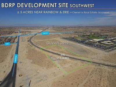Las Vegas Residential Lots & Land For Sale: Rainbow & Erie