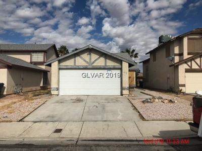 Las Vegas NV Single Family Home For Sale: $164,000