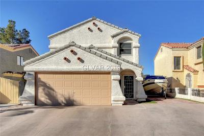 Las Vegas Single Family Home For Sale: 1279 Clagett Lane