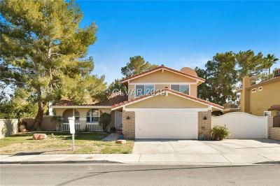 Las Vegas Single Family Home For Sale: 1405 Lucaccini Lane