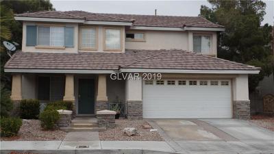 Las Vegas NV Single Family Home For Sale: $379,000