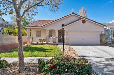 Las Vegas NV Single Family Home Under Contract - No Show: $265,000
