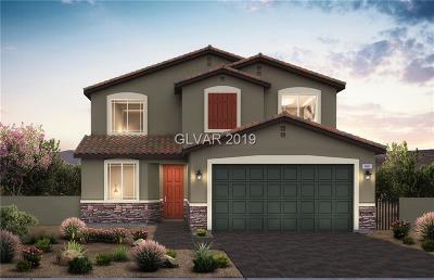 North Las Vegas Single Family Home For Sale: 4340 Stardusk Falls Avenue #Lot 184