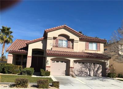 Las Vegas Single Family Home For Sale: 2232 Timber Rose Drive