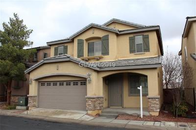 Las Vegas Single Family Home For Sale: 7232 Willow Brush Street