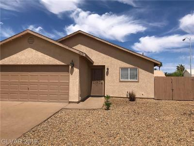 Las Vegas NV Single Family Home For Sale: $258,000