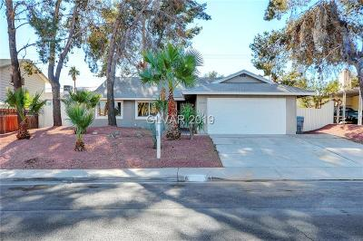 Las Vegas Single Family Home For Sale: 2541 Vegas Valley Drive