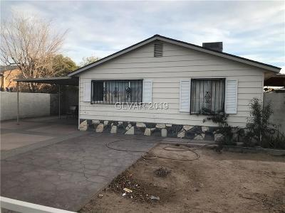 North Las Vegas Single Family Home For Sale: 3405 Canoga Avenue