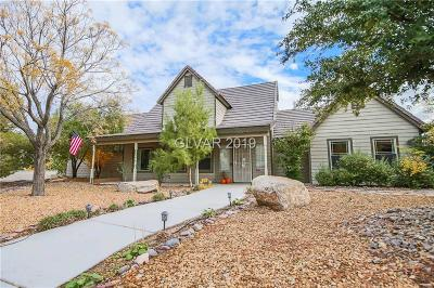Section 10 Single Family Home Under Contract - No Show: 2880 South Tenaya Way